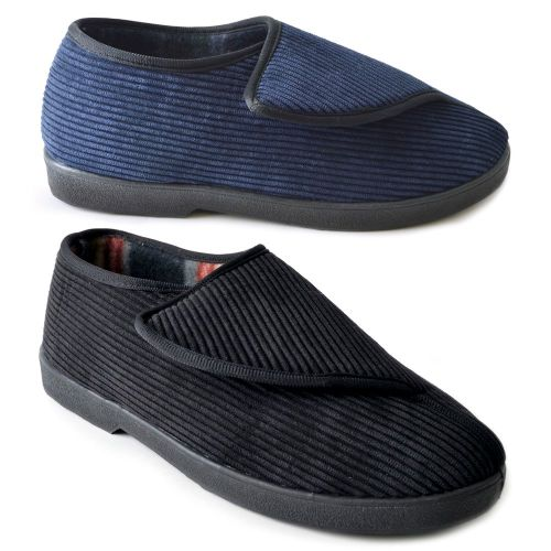 Mens Open Close Bedslippers