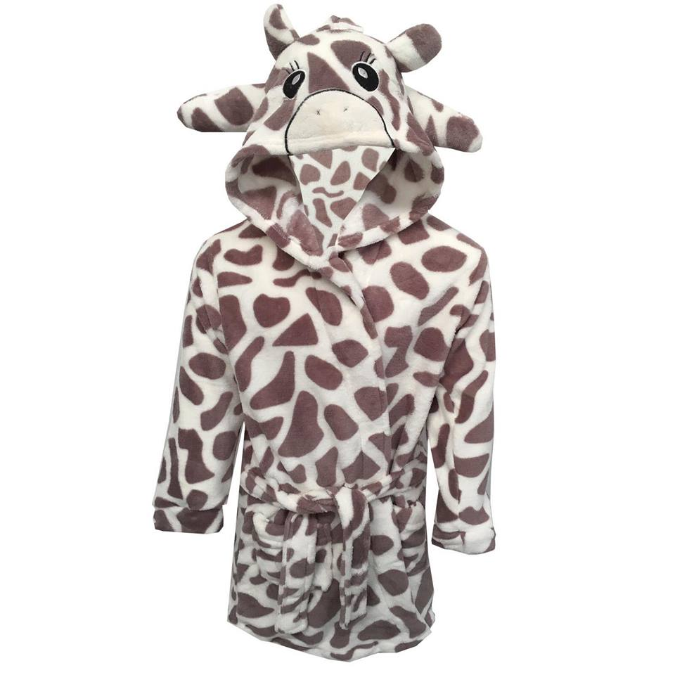 2ab208c97a Fleecy Kids Giraffe Dressing Gown | Best & Less Home Furnishings