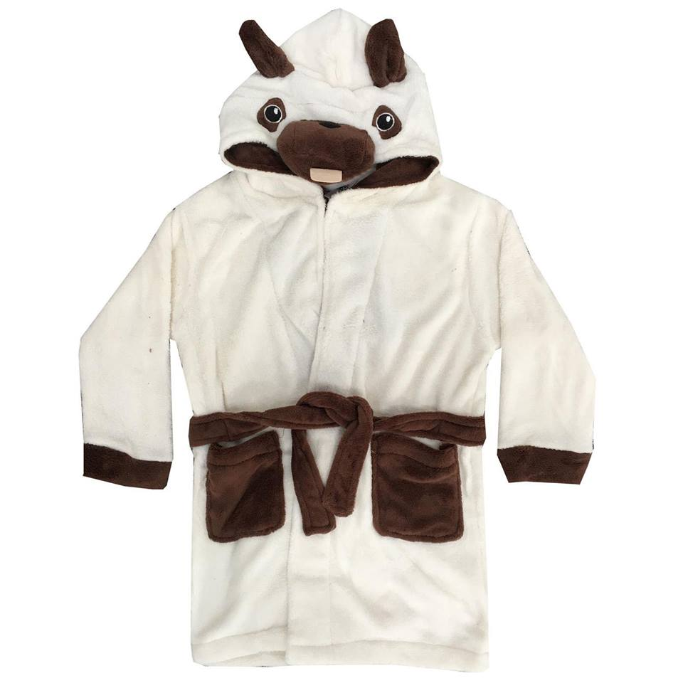 Kids Dog Dressing Gown