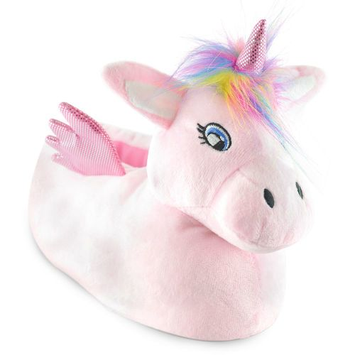 Ladies Unicorn Full Slippers