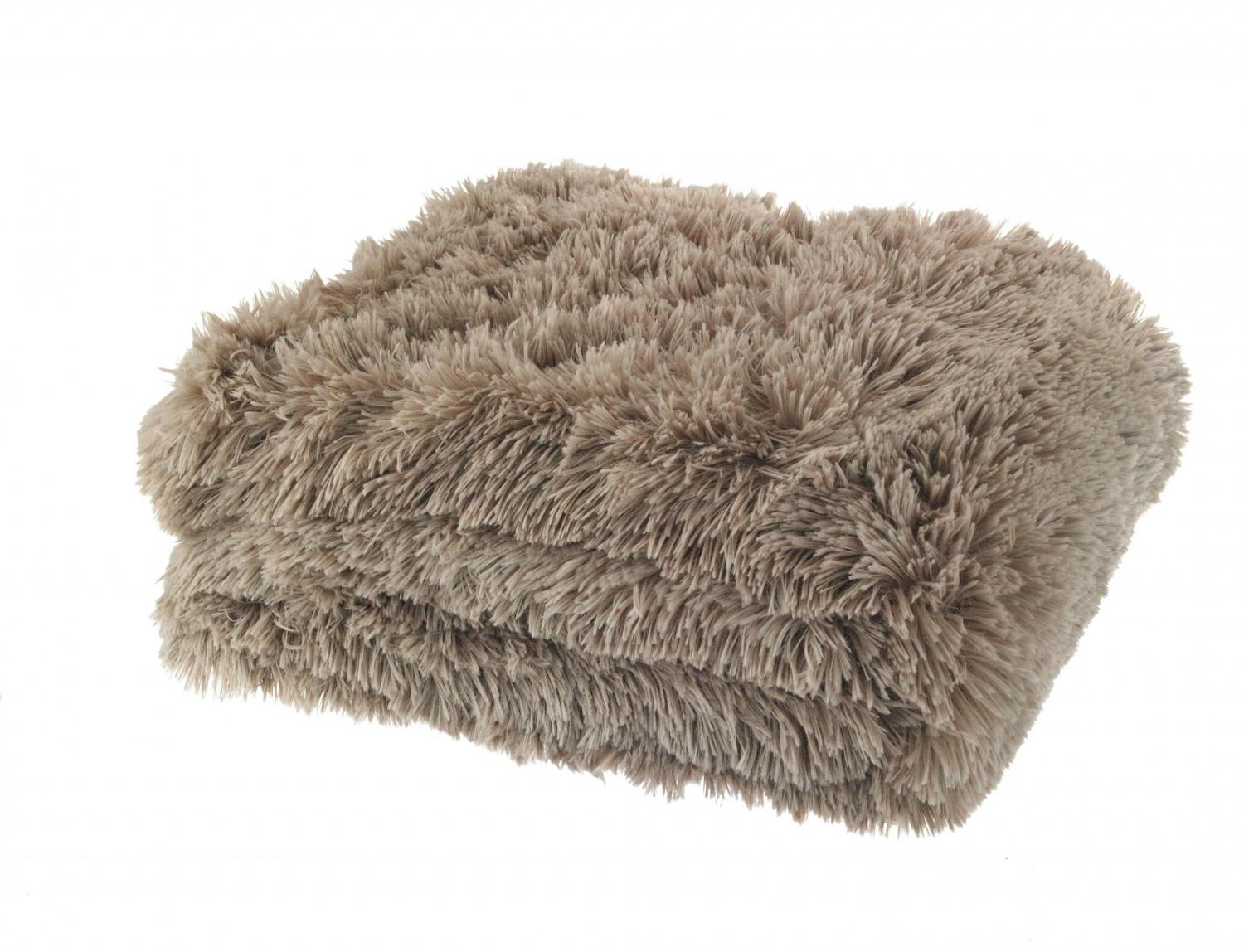 Taupe Cuddly Blanket