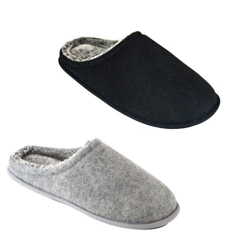 Mens Plain Slippers