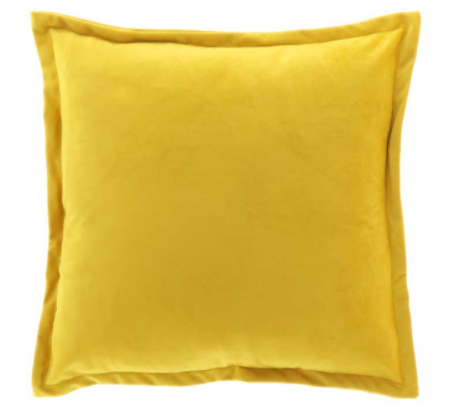 Kylie Mellow Yellow Cushion