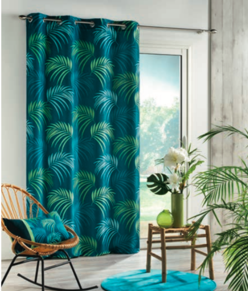 Vegetal Ready Made Curtain